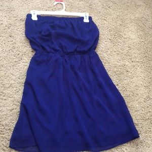 Tube top express dress. Worn once